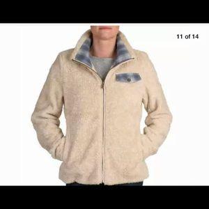 Pendleton XL fuzzy full zip plaid lining jacket
